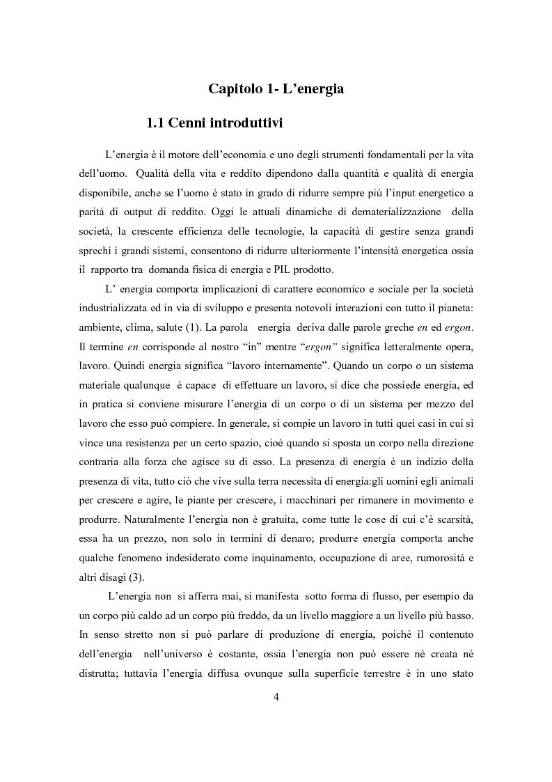 Anteprima della tesi: Il ciclo elettronucleare nello scenario energetico mondiale. Stato dell'arte e dinamiche evolutive, Pagina 3