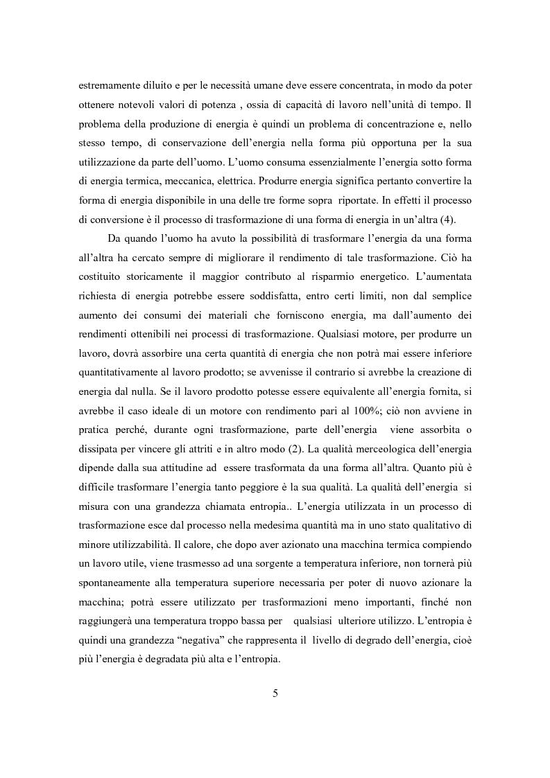 Anteprima della tesi: Il ciclo elettronucleare nello scenario energetico mondiale. Stato dell'arte e dinamiche evolutive, Pagina 4