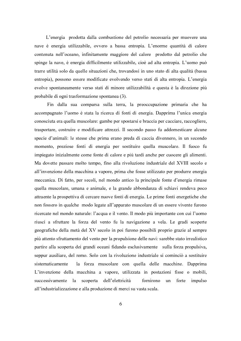 Anteprima della tesi: Il ciclo elettronucleare nello scenario energetico mondiale. Stato dell'arte e dinamiche evolutive, Pagina 5