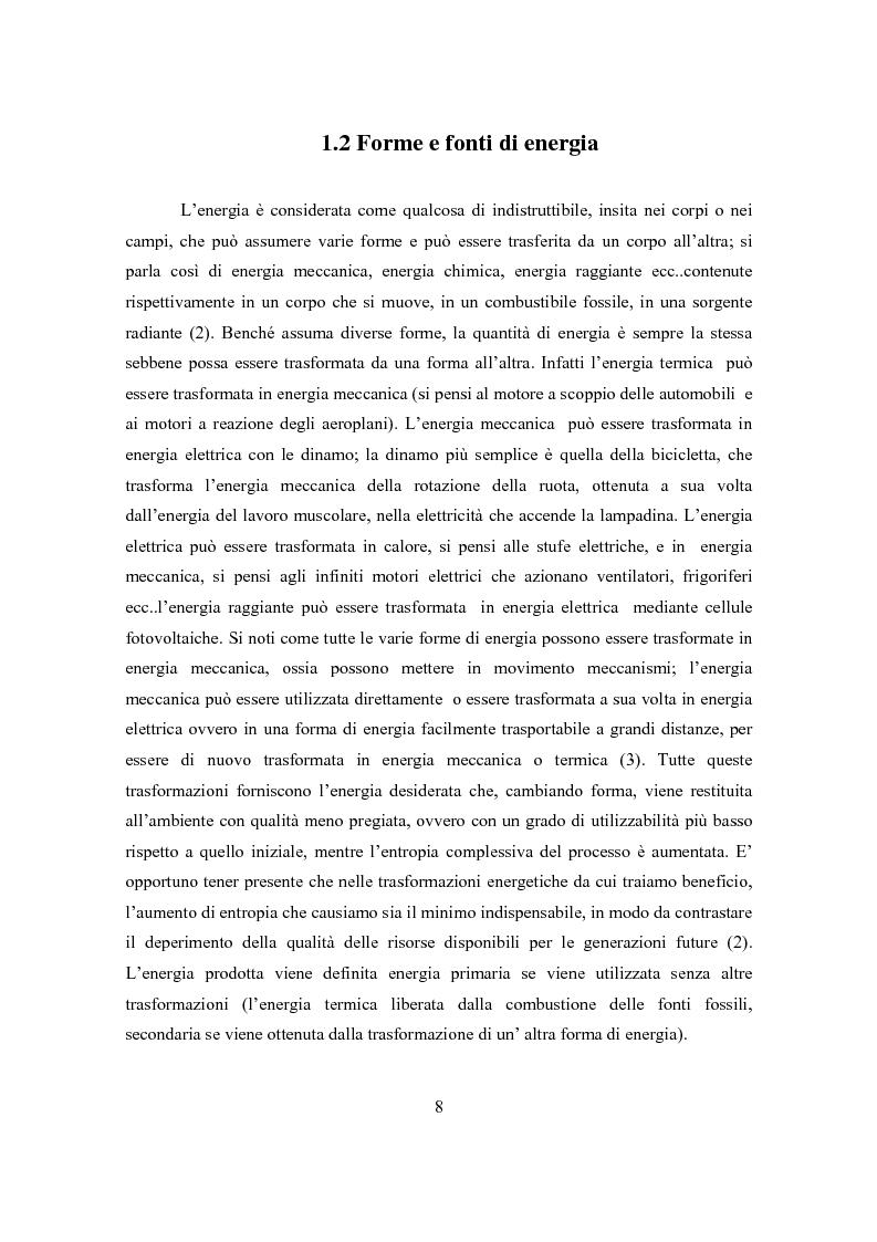 Anteprima della tesi: Il ciclo elettronucleare nello scenario energetico mondiale. Stato dell'arte e dinamiche evolutive, Pagina 7