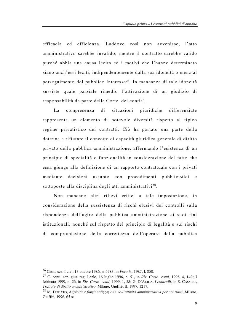 Anteprima della tesi: I sistemi integrati di gara negli appalti pubblici di forniture e servizi, Pagina 11