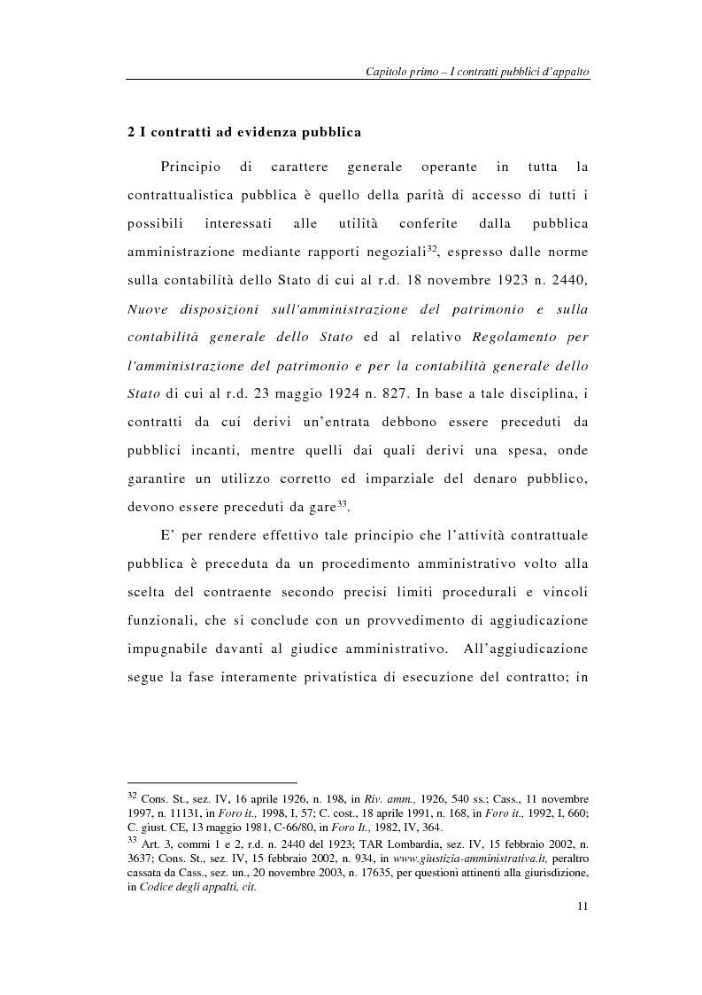 Anteprima della tesi: I sistemi integrati di gara negli appalti pubblici di forniture e servizi, Pagina 13