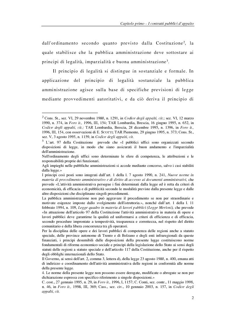 Anteprima della tesi: I sistemi integrati di gara negli appalti pubblici di forniture e servizi, Pagina 4