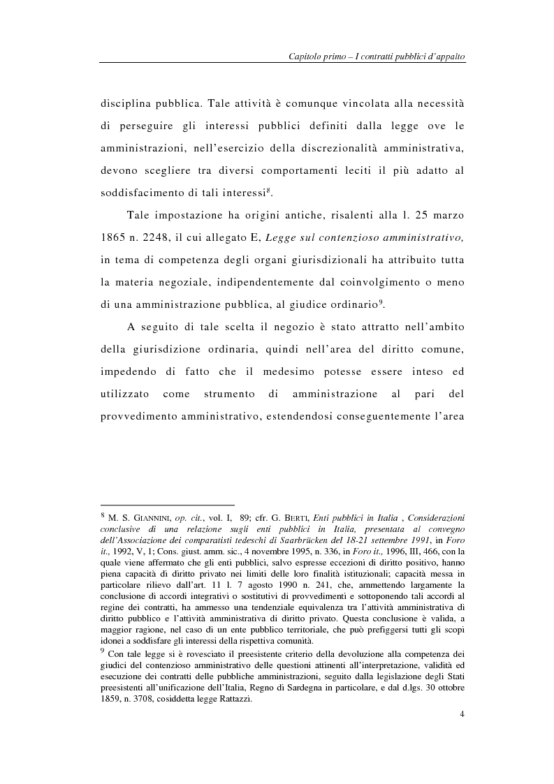 Anteprima della tesi: I sistemi integrati di gara negli appalti pubblici di forniture e servizi, Pagina 6