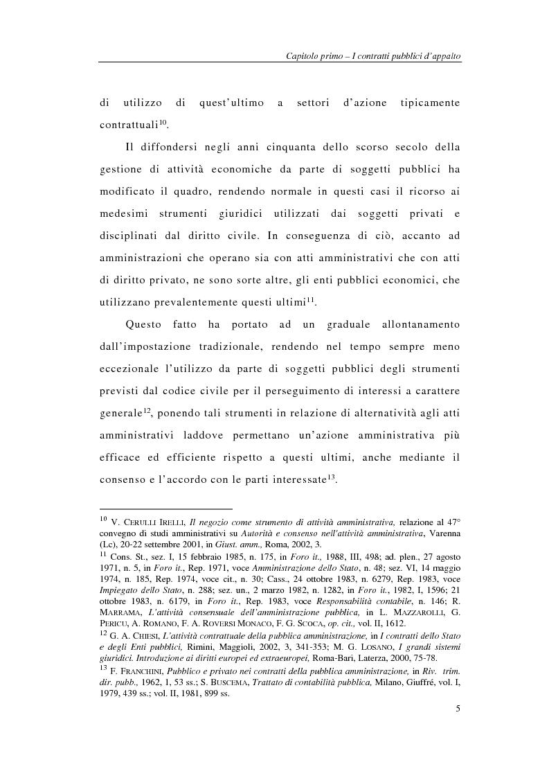 Anteprima della tesi: I sistemi integrati di gara negli appalti pubblici di forniture e servizi, Pagina 7