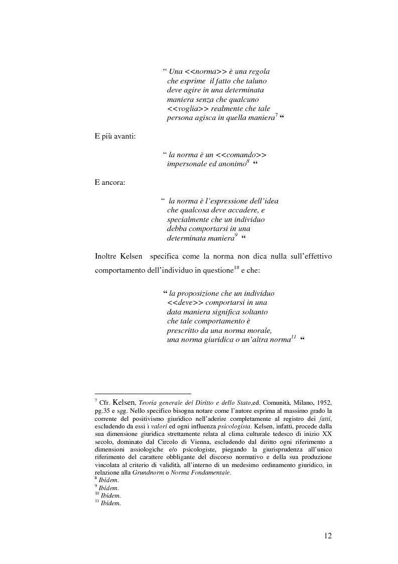 Anteprima della tesi: Logice e norme. Per una logica deontica, Pagina 10