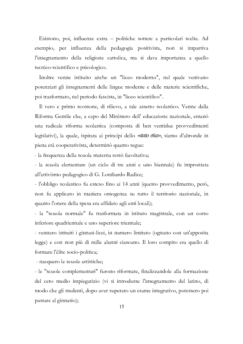 Anteprima della tesi: Relazione conclusiva del biennio di specializzazione, Pagina 12