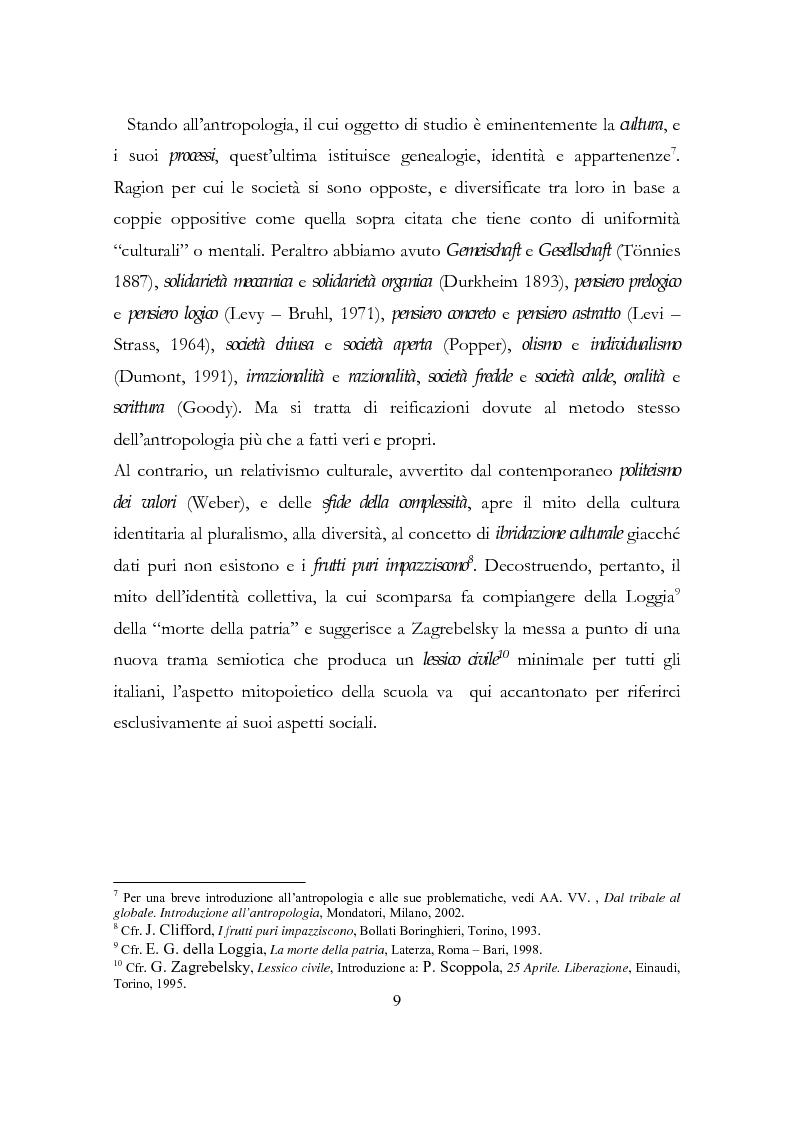 Anteprima della tesi: Relazione conclusiva del biennio di specializzazione, Pagina 6