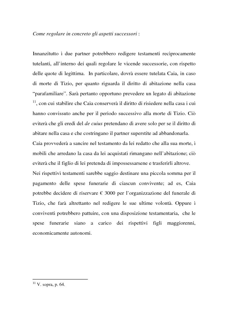 Anteprima della tesi: La tutela successoria del convivente more uxorio, Pagina 10