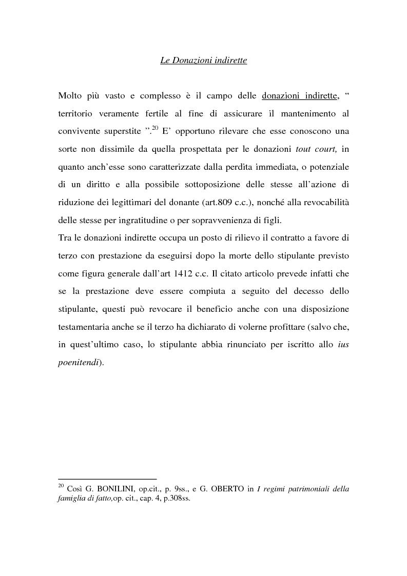 Anteprima della tesi: La tutela successoria del convivente more uxorio, Pagina 14
