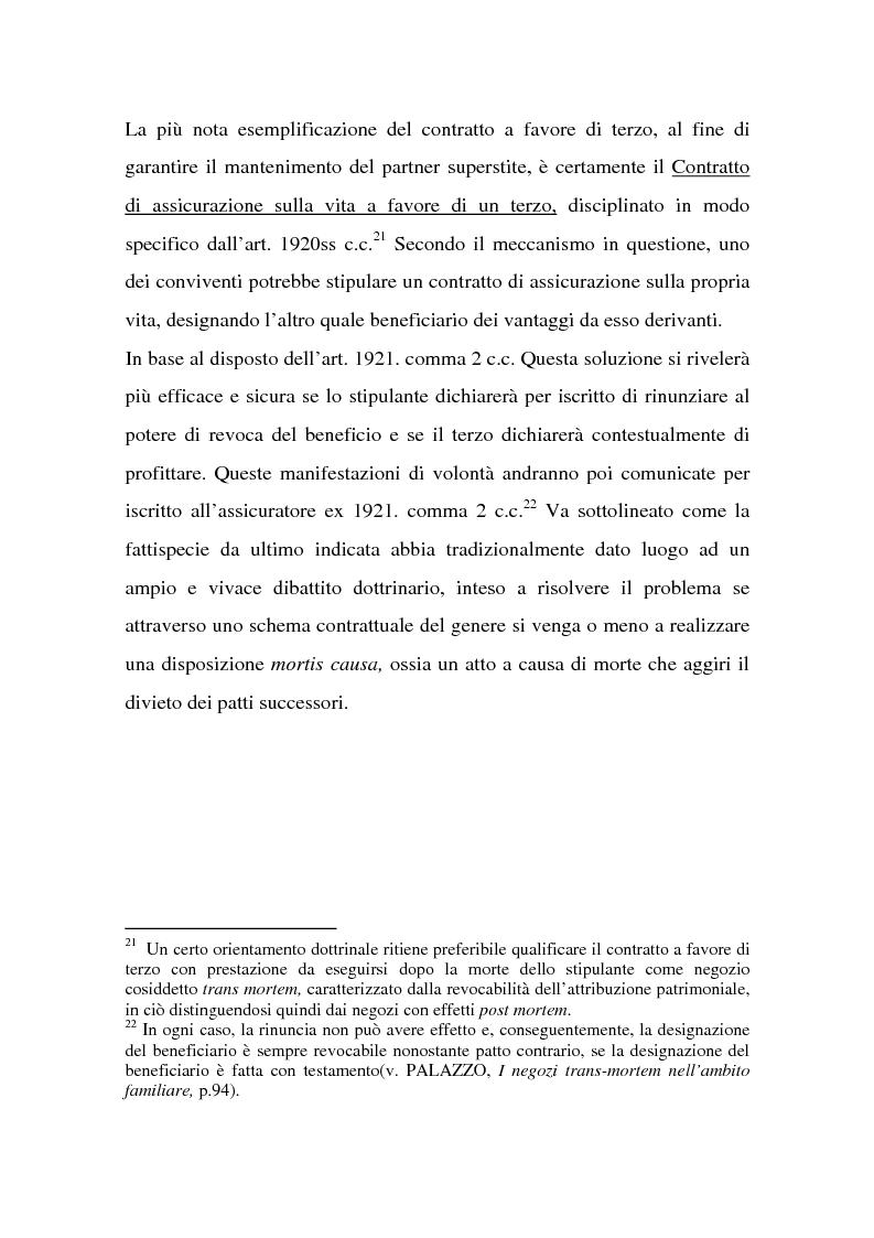 Anteprima della tesi: La tutela successoria del convivente more uxorio, Pagina 15