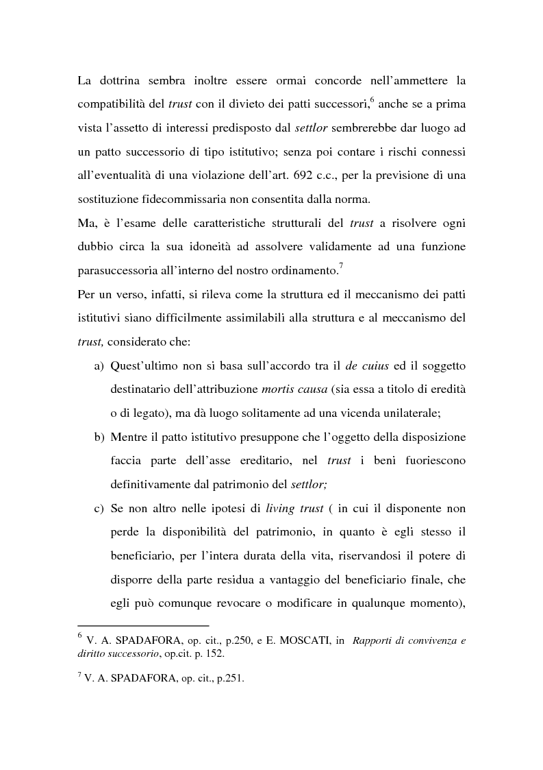 Anteprima della tesi: La tutela successoria del convivente more uxorio, Pagina 5