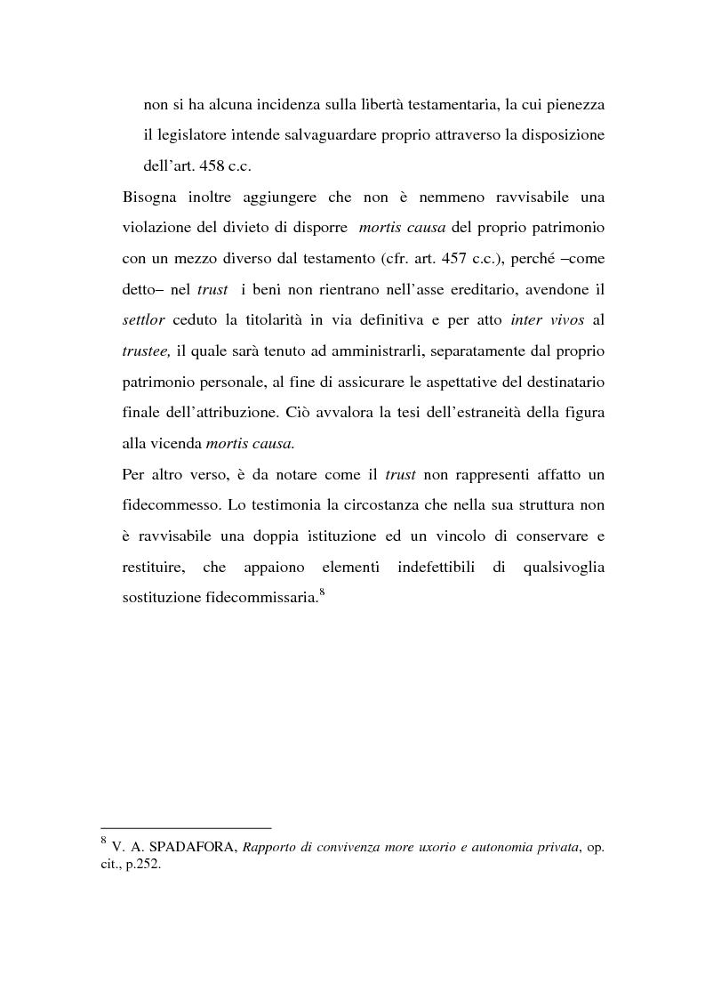 Anteprima della tesi: La tutela successoria del convivente more uxorio, Pagina 6