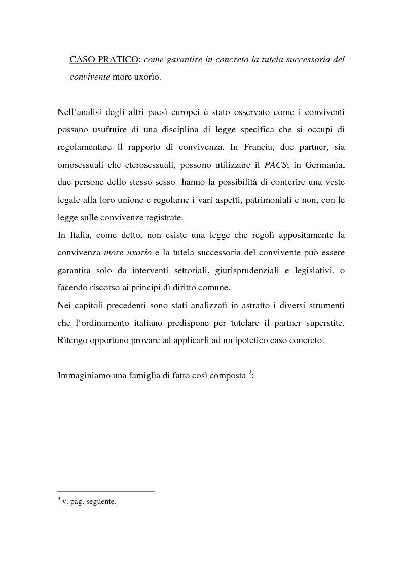 Anteprima della tesi: La tutela successoria del convivente more uxorio, Pagina 7
