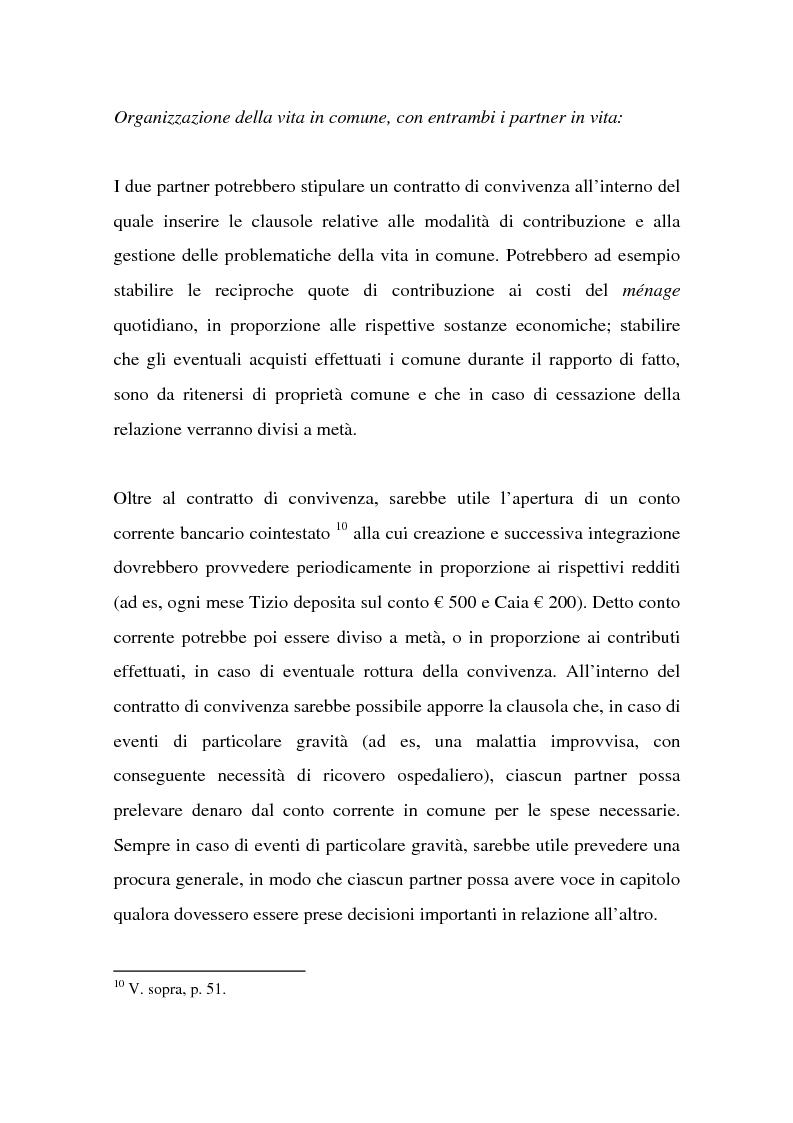 Anteprima della tesi: La tutela successoria del convivente more uxorio, Pagina 9