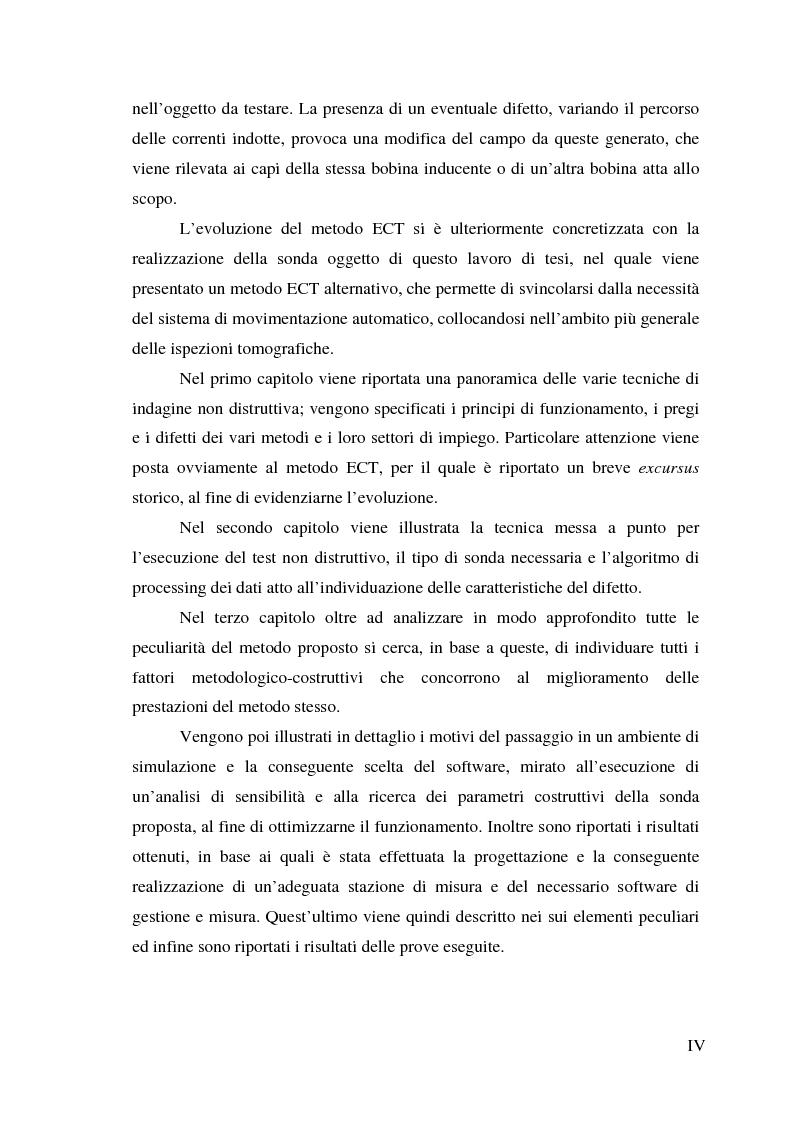 Anteprima della tesi: Realizzazione di un sistema tomografico per l'esecuzione di prove non distruttive su materiali conduttori, Pagina 2