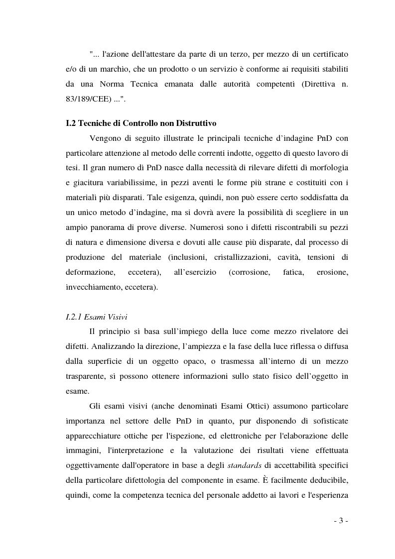 Anteprima della tesi: Realizzazione di un sistema tomografico per l'esecuzione di prove non distruttive su materiali conduttori, Pagina 6