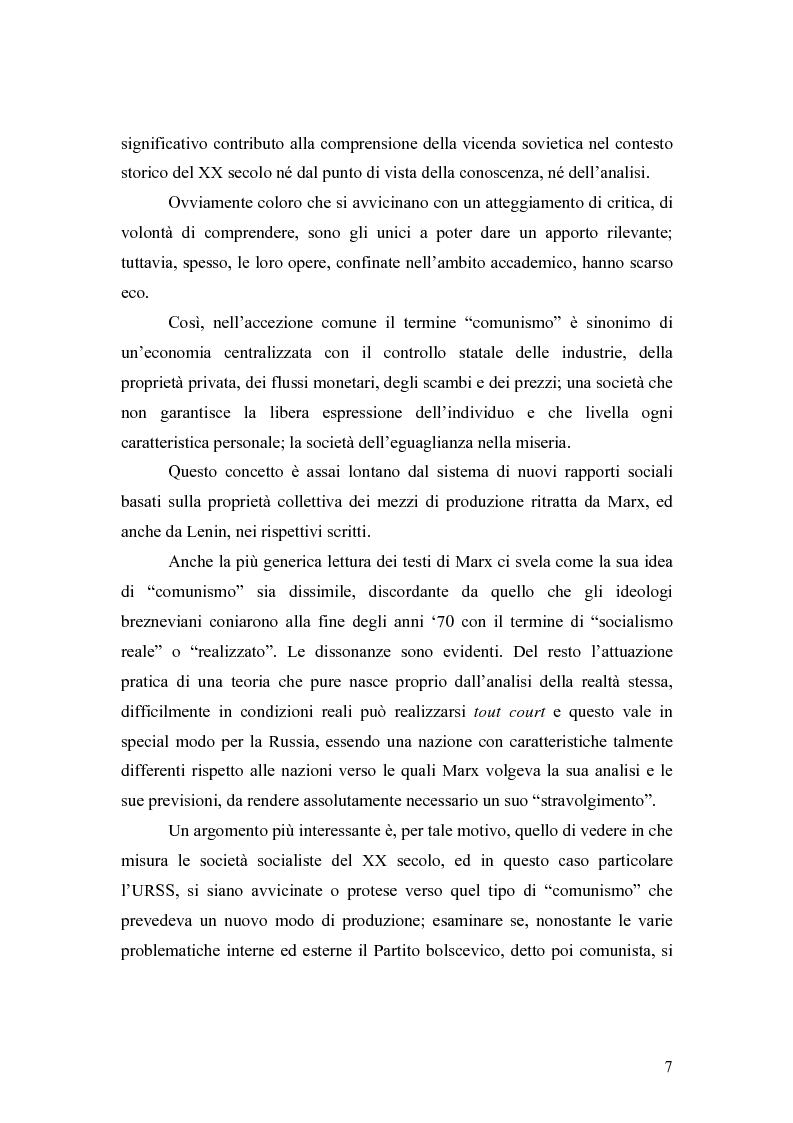 """Anteprima della tesi: Marx e il """"socialismo reale"""", Pagina 4"""