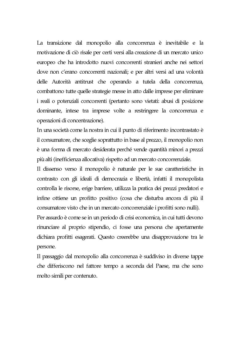 Anteprima della tesi: Il declino del Monopolio, Pagina 1