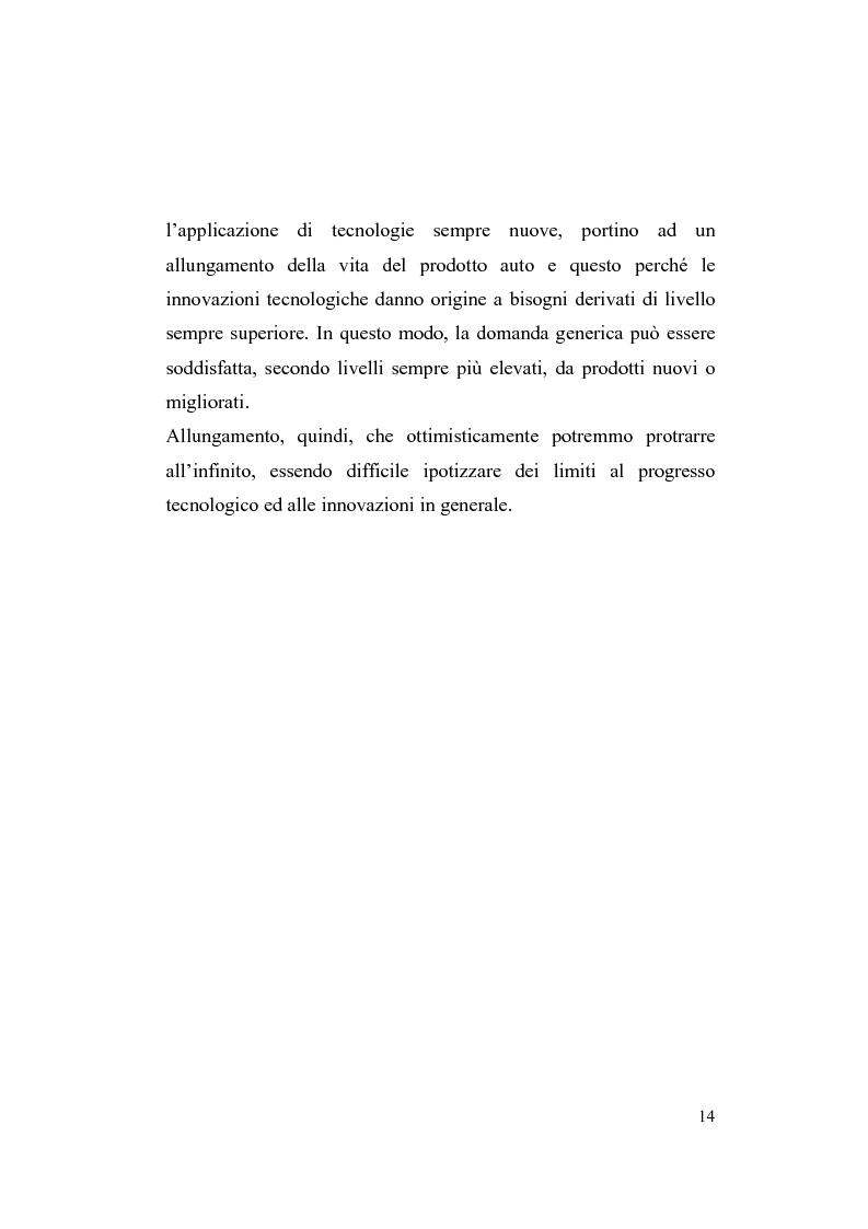 Anteprima della tesi: La riorganizzazione nel settore automotive: il rapporto con i fornitori e la distribuzione, Pagina 8