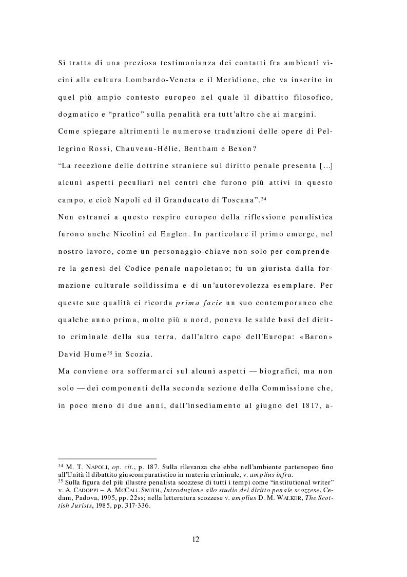 Anteprima della tesi: Il Codice delle Due Sicilie del 1819, Pagina 10