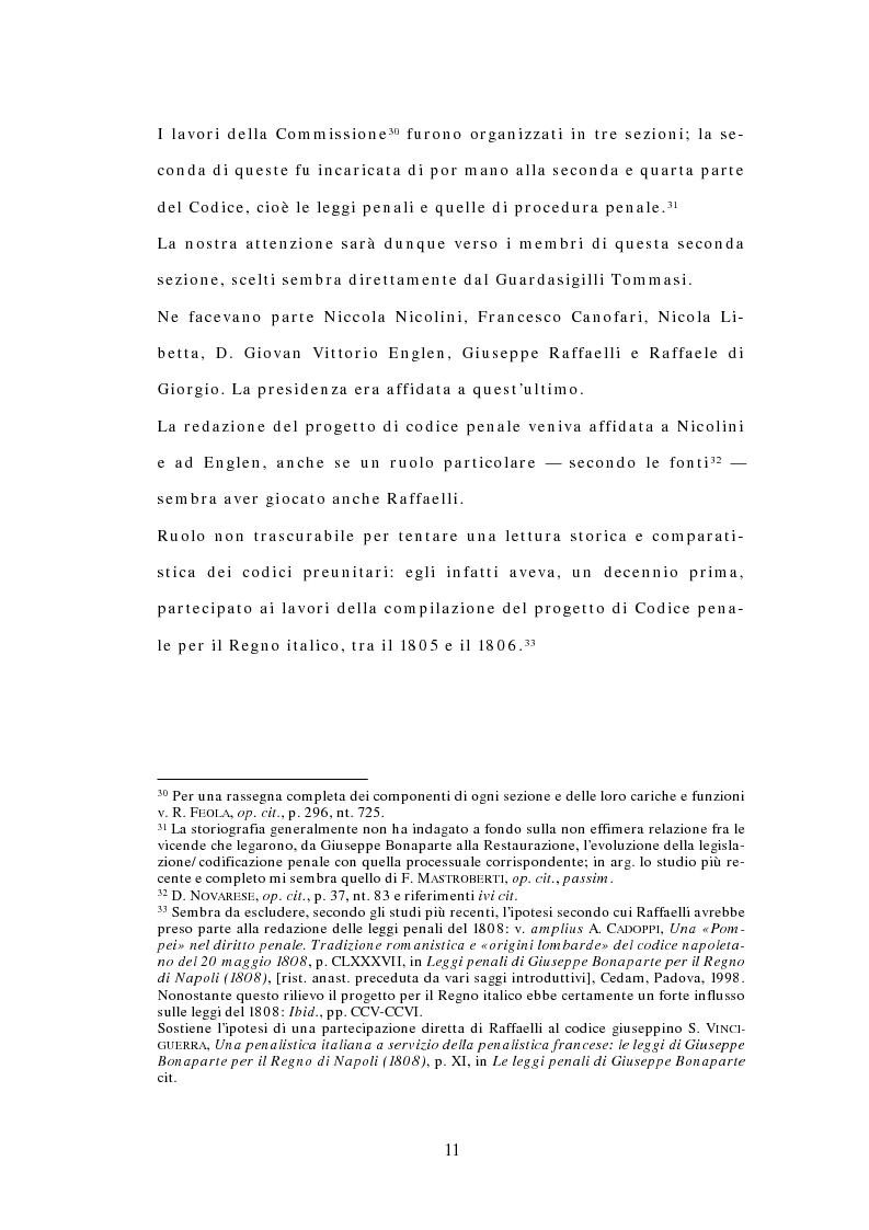 Anteprima della tesi: Il Codice delle Due Sicilie del 1819, Pagina 9