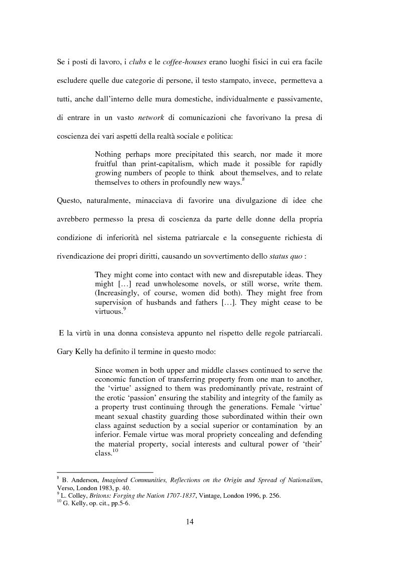 Anteprima della tesi: La drammaturgia di Mariana Starke (1762 ? - 1838), Pagina 14