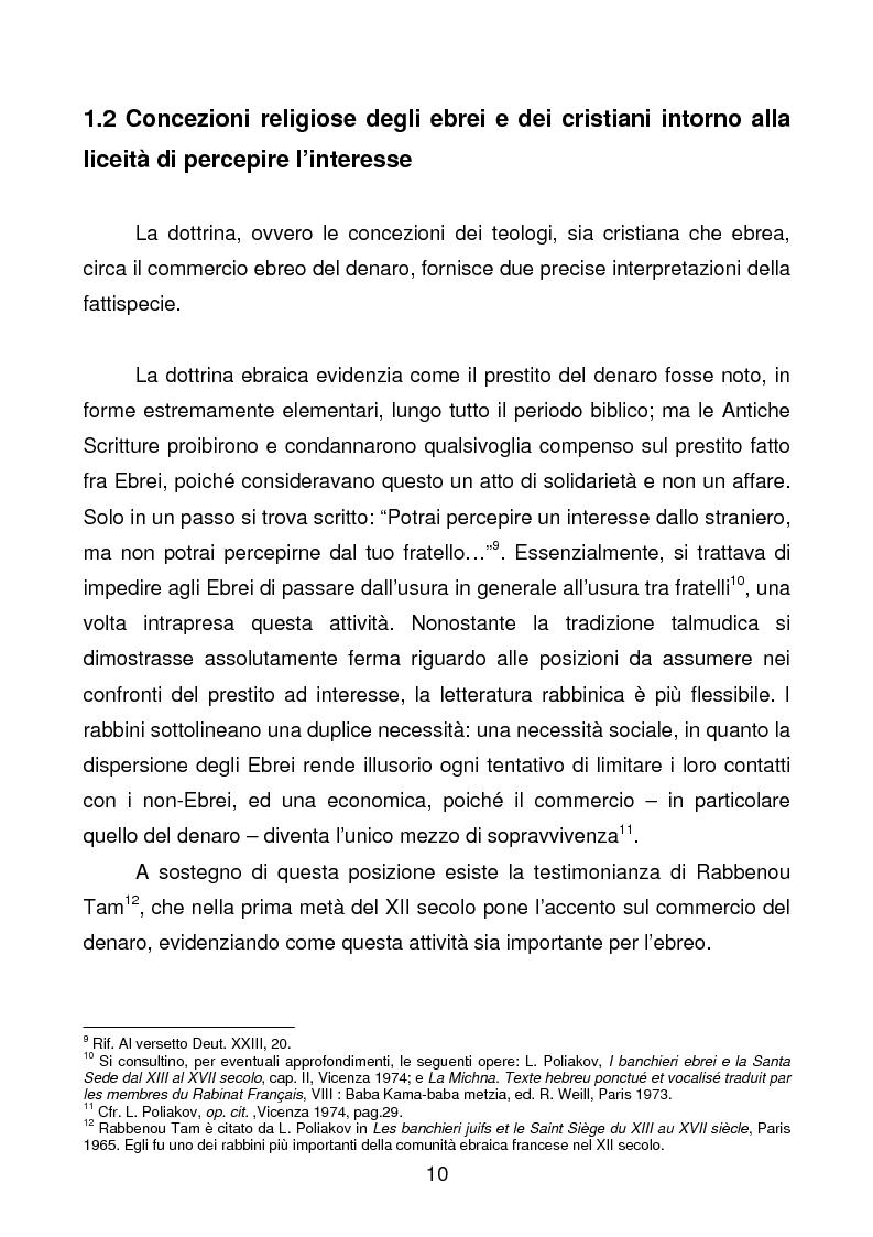 Anteprima della tesi: La comunità ebraica di Terni, Pagina 7