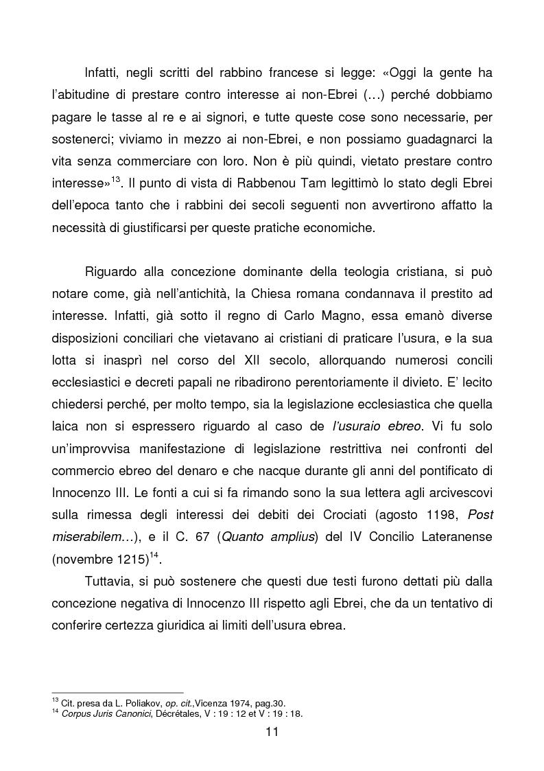 Anteprima della tesi: La comunità ebraica di Terni, Pagina 8