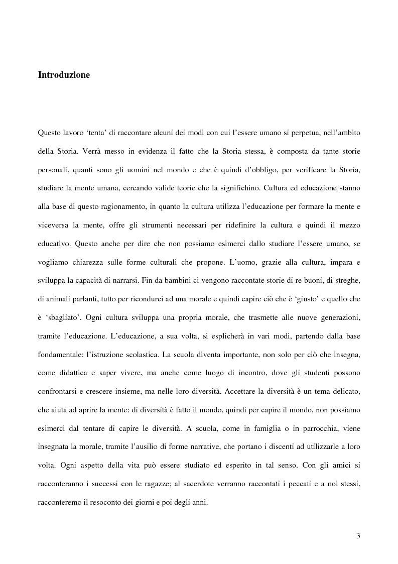 Anteprima della tesi: Storie che aiutano a crescere, Pagina 1