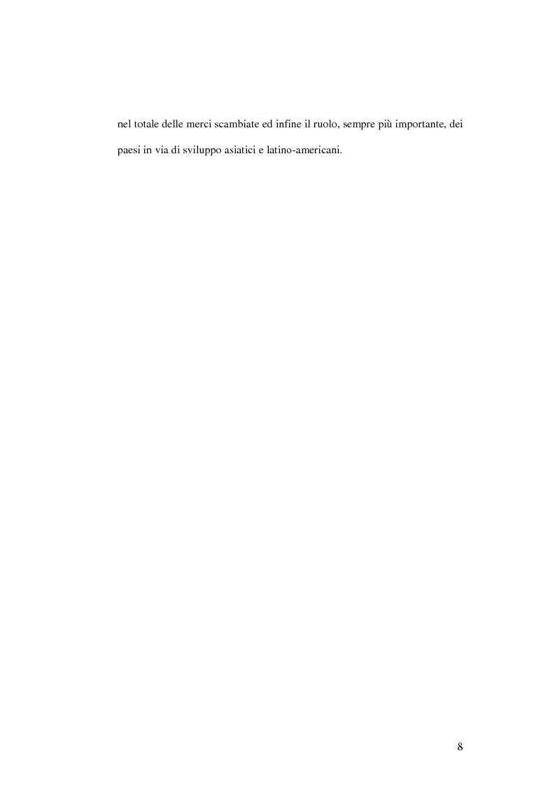 Anteprima della tesi: Evoluzione infrastrutturale e competitiva del trasporto merci via mare. L'esperienza dello Short Sea Shipping nell Tirrenia Navigazione, Pagina 12