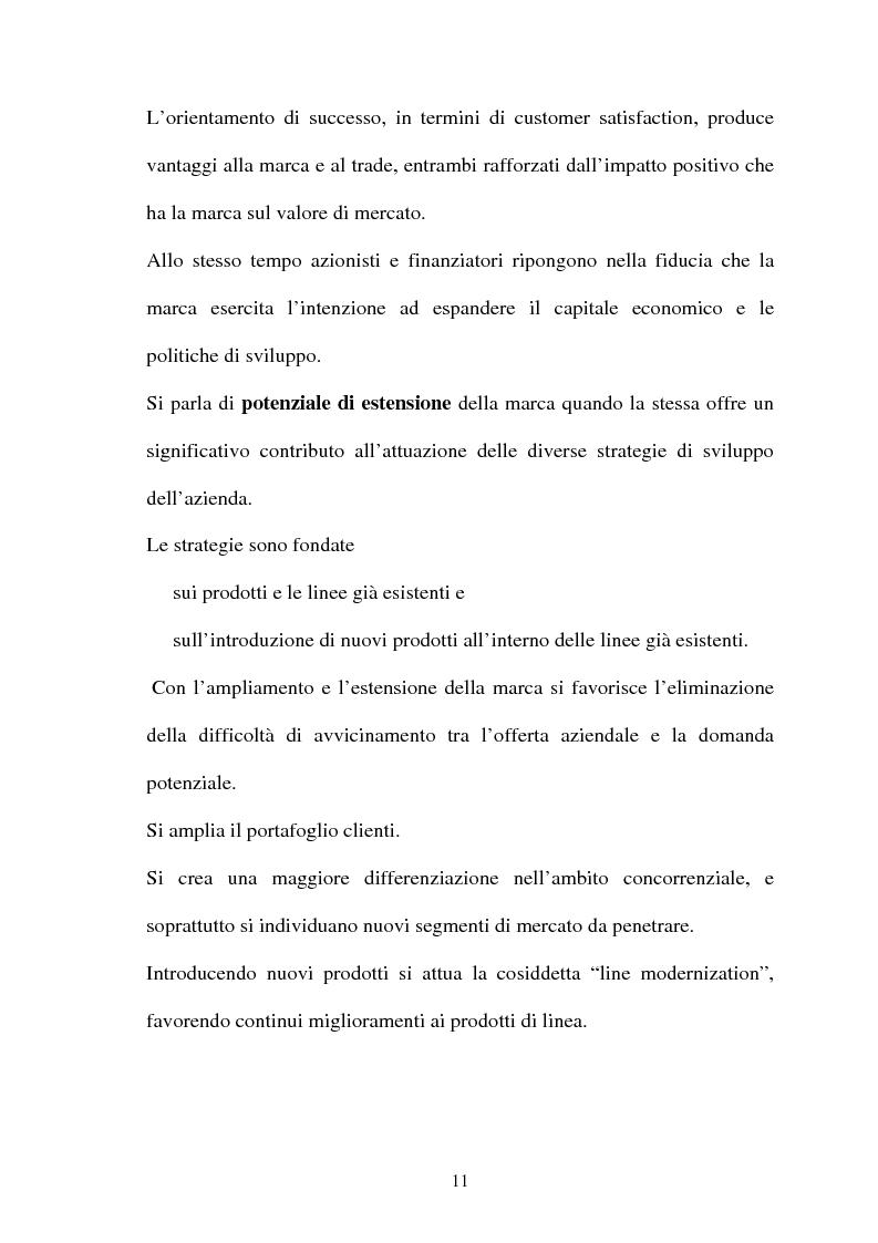 Anteprima della tesi: Brand Image, genesi, mantenimento e cambiamento di un'immagine di marca, Pagina 7