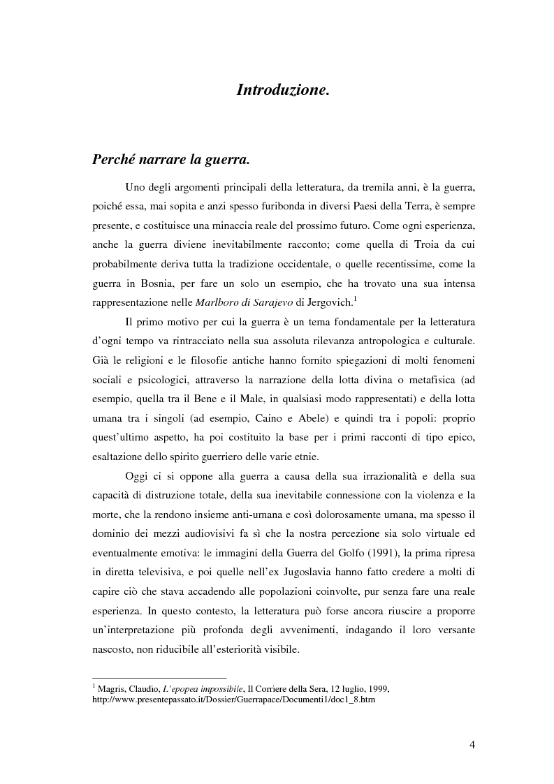 Anteprima della tesi: Rileggere la II Guerra Mondiale: Joseph Heller e Kurt Vonnegut, Pagina 1