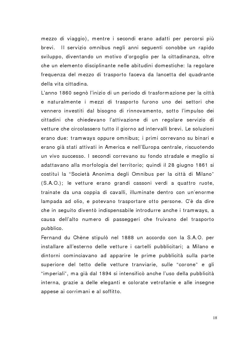 Anteprima della tesi: Il mezzo è il messaggio. La transit advertising in Italia e nel mondo, Pagina 12