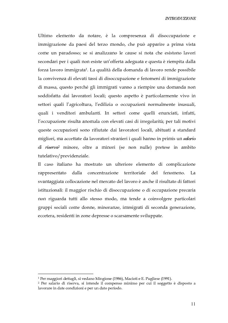 Anteprima della tesi: Durata della disoccupazione: indagini e modelli, Pagina 11