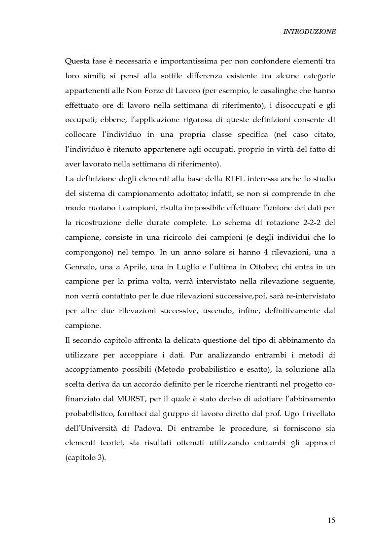 Anteprima della tesi: Durata della disoccupazione: indagini e modelli, Pagina 15