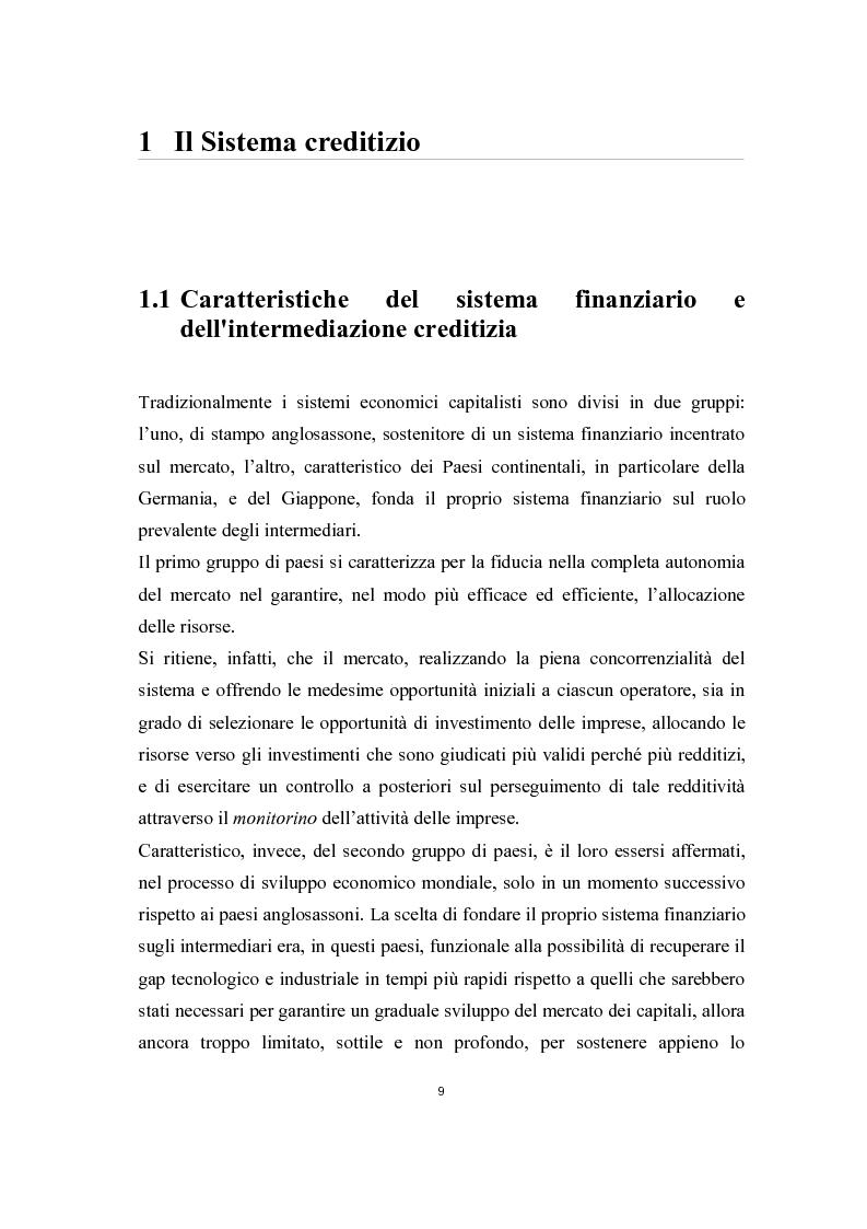 Anteprima della tesi: Il ruolo del sistema bancario nel finanziamento dell'innovazione alle piccole e medie imprese, Pagina 5