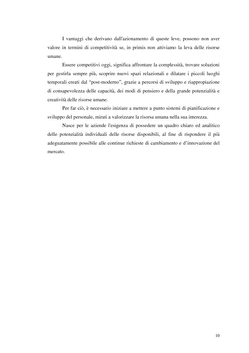 Anteprima della tesi: Assessment Center. La fase del feedback., Pagina 6