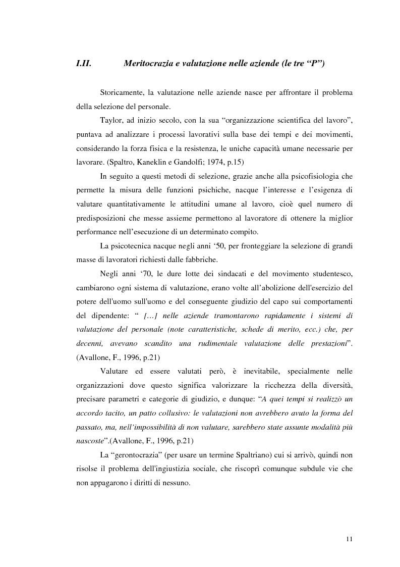 Anteprima della tesi: Assessment Center. La fase del feedback., Pagina 7