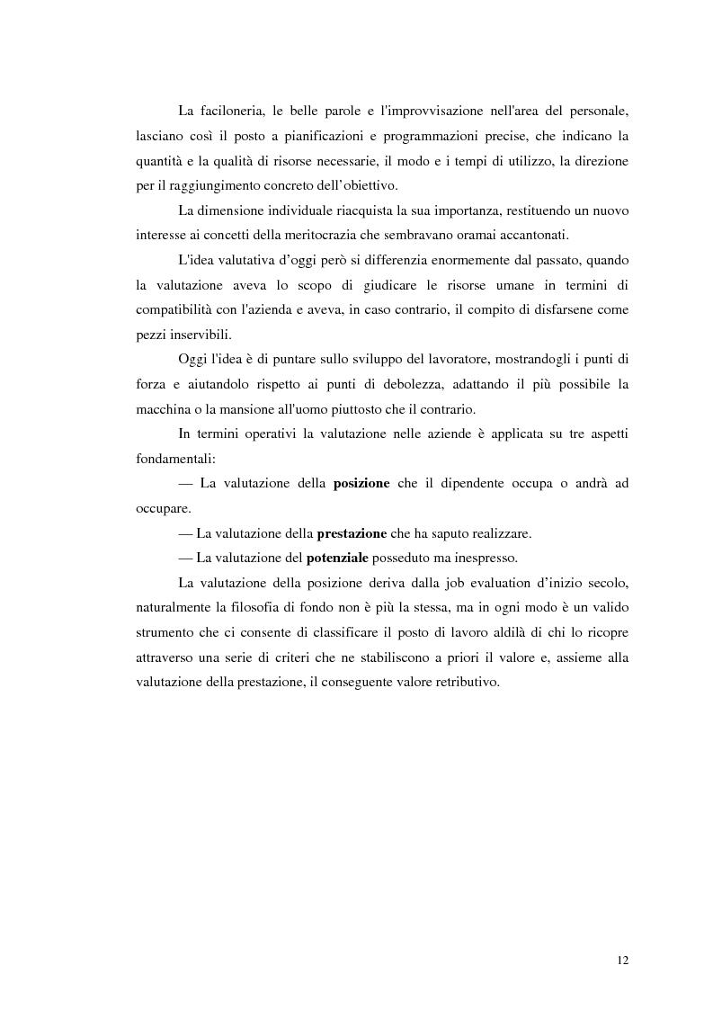 Anteprima della tesi: Assessment Center. La fase del feedback., Pagina 8