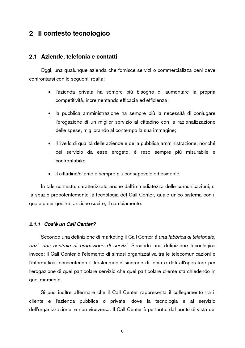 Anteprima della tesi: Chiamata attivata da richiesta vocale, Pagina 3
