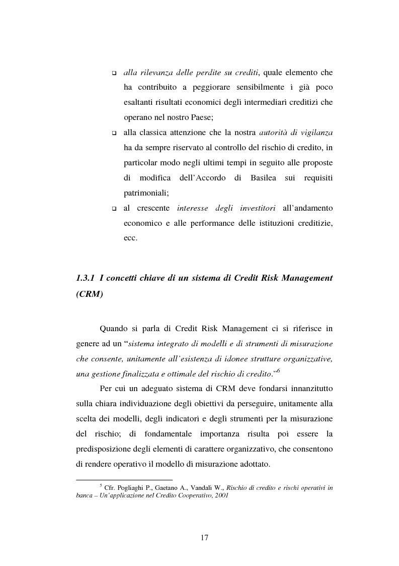 Anteprima della tesi: Valutazione delle imprese e merito creditizio alla luce del Nuovo Accordo di Basilea, Pagina 13