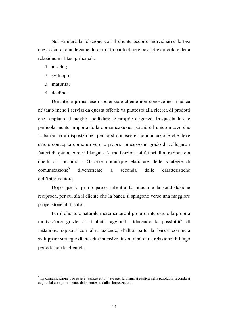 Anteprima della tesi: Implementazione e problematiche di una strategia di CRM in banca, Pagina 10