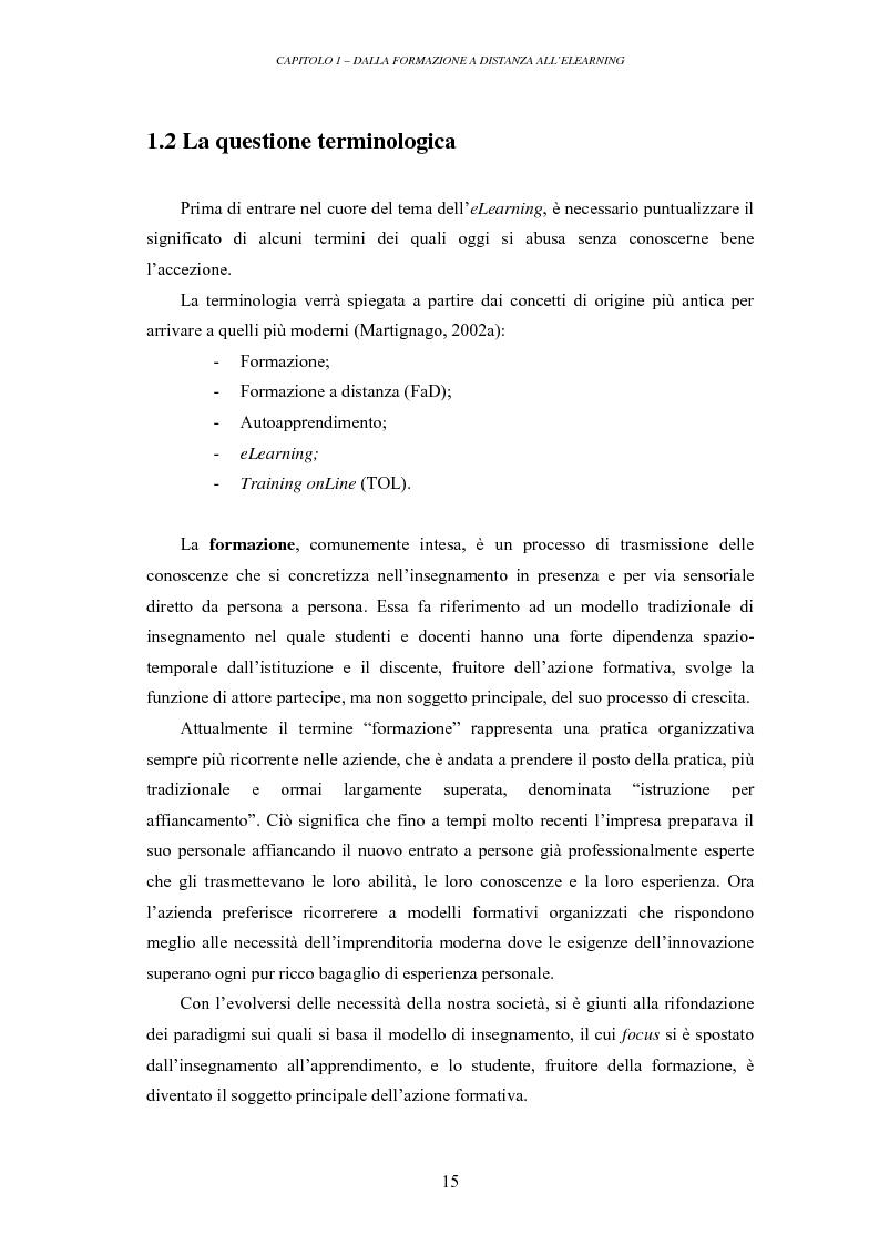 Anteprima della tesi: La valutazione delle piattaforme tecnologiche per l'eLearning: uno sguardo al mondo open source, Pagina 10