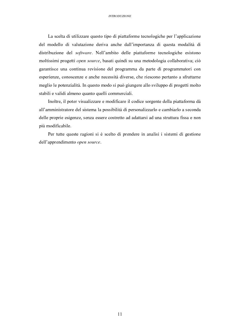 Anteprima della tesi: La valutazione delle piattaforme tecnologiche per l'eLearning: uno sguardo al mondo open source, Pagina 6