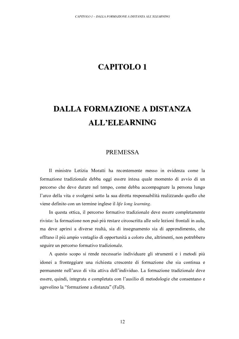 Anteprima della tesi: La valutazione delle piattaforme tecnologiche per l'eLearning: uno sguardo al mondo open source, Pagina 7