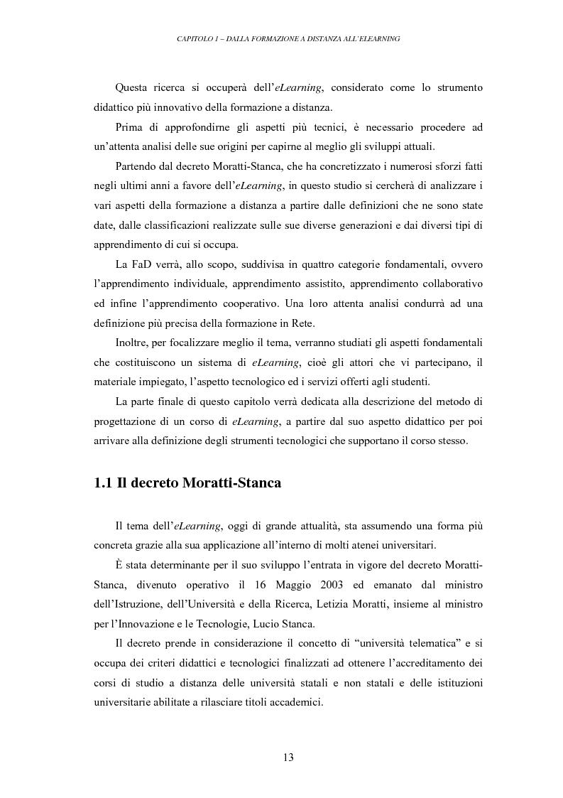 Anteprima della tesi: La valutazione delle piattaforme tecnologiche per l'eLearning: uno sguardo al mondo open source, Pagina 8