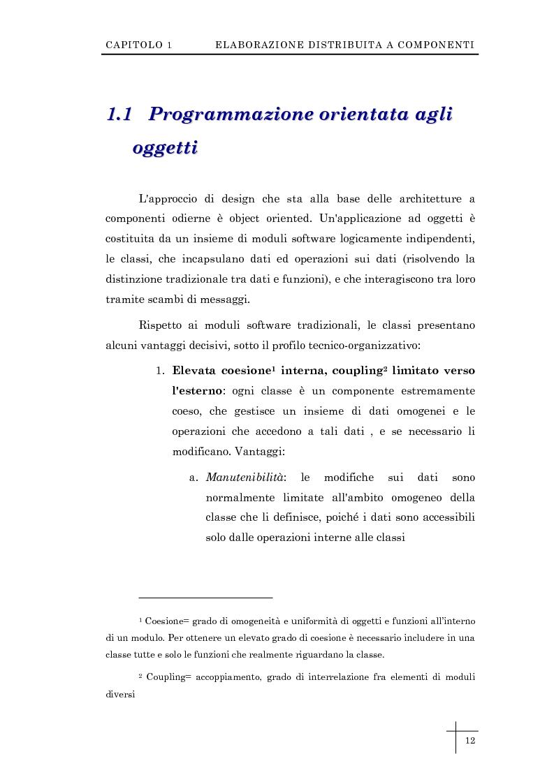 """Anteprima della tesi: Sviluppo dei Data Mart """"Costo Attività"""" e """"Risorse Strumentali"""" nell'ambito del sistema CIPEL, Pagina 5"""