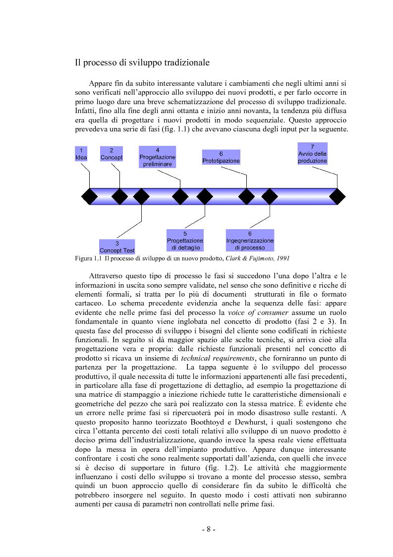 Anteprima della tesi: L'integrazione dei fornitori in progettazione e la gestione delle informazioni: un modello di analisi, Pagina 4