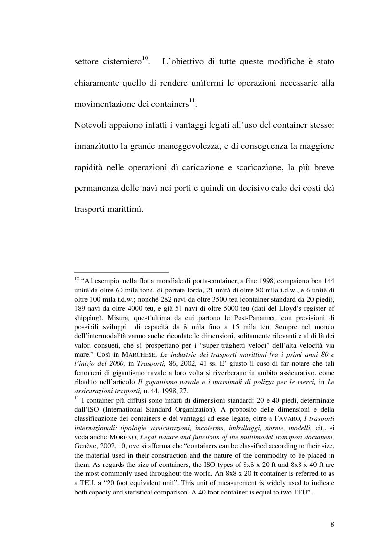 Anteprima della tesi: La disciplina del trasporto multimodale, Pagina 5